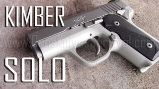 Kimber Solo Carry STS 9mm Single Stack Pistol Review